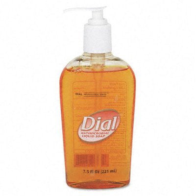Liquid Dial® Gold Antimicrobial Soap - 7.5 oz - RokBuy - Office -