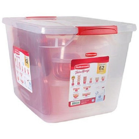 Rubbermaid TakeAlongs Food Storage Set - 62 pc. - RokBuy - Home -