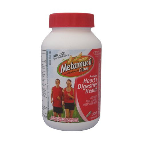 Metamucil with 100% Natural Fiber, 300-Count Bottle - RokBuy - Health personal care -