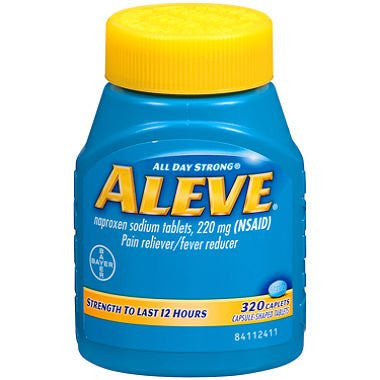 Aleve Pain Reliever, 320 Caplets - RokBuy - Health -