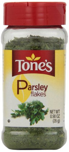 Tone's Parsley Flakes, 0.9 Ounce - RokBuy - Grocery -