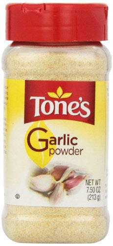 Tone's Garlic Powder, 7.5 Ounce - RokBuy - Grocery -