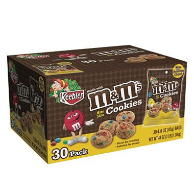 Keebler M&M Cookies (30 Count) - RokBuy - Food -