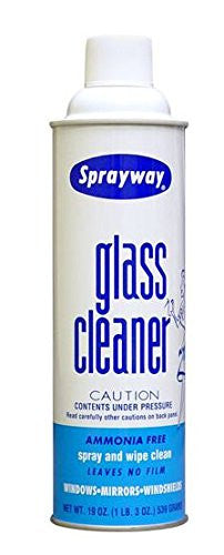 Sprayway S50 Glass Cleaner - Pack of 6 Cans - RokBuy - Health personal care -