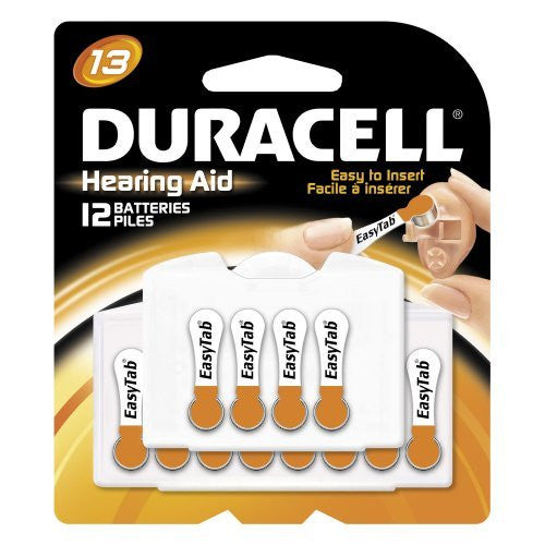 Duracell EasyTab Hearing Aid Batteries Size 13 (24 batteries total) Personal Healthcare / Health Care - RokBuy - Health personal care -