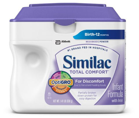 Similac Total Comfort Infant Formula with Iron, Powder 1.41lbs. - 4 pack - RokBuy - Baby and Kids -