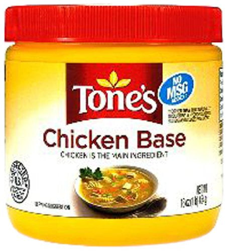 Tone's Base, Chicken, 16 Ounce - RokBuy - Grocery -