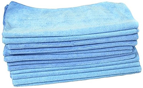 Member's Mark Microfiber Towels, Various Colors Available - RokBuy - Office - Blue - 1