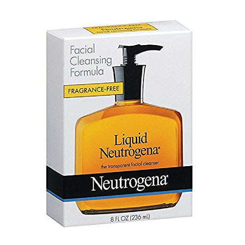 Neutrogena Liquid Cleanser Fragrance Free -- 8 fl oz - RokBuy - Beauty -