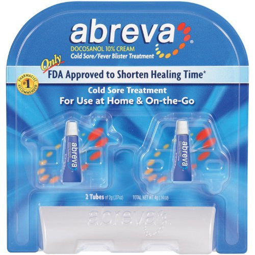 SCS Abreva® Cold Sore Treatment - 2/2g tubes - RokBuy - Grocery -