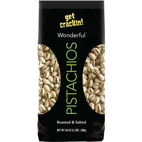 SCS Wonderful® Pistachios - In Shell - 3 lb. - RokBuy - Grocery -