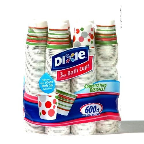 Dixie - Bath Cup, 3 oz. - 600 Cups - RokBuy - Home -
