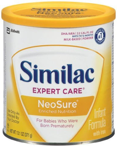 Similac Neosure Enriched Nutrition Infant Formula,13.1 oz. - 6 Pack - RokBuy - Baby and Kids -