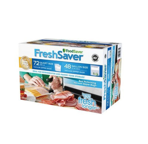 FoodSaver FreshSaver Zipper Bag Combo Pack - RokBuy - Home -