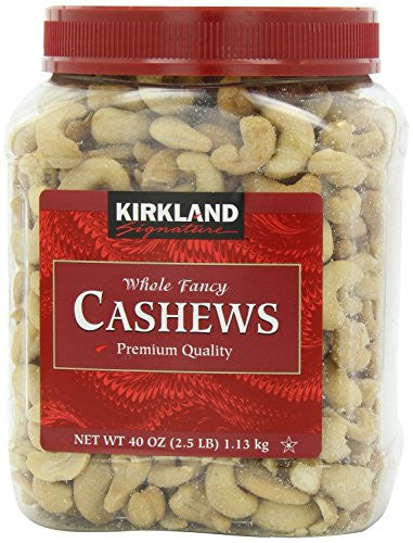 Signature's Cashews, 40 Ounce (Pack of 2) - RokBuy - Grocery -