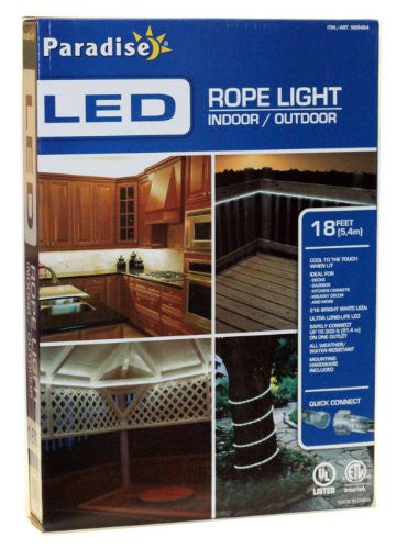 Paradise LED Rope Light 18 Feet Indoor/Outdoor - RokBuy - Home -