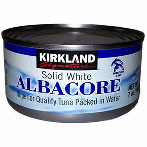 Kirkland Signature Solid White Albacore Superior Quality Tuna Packed In Water, 16 Pack - RokBuy - Food -
