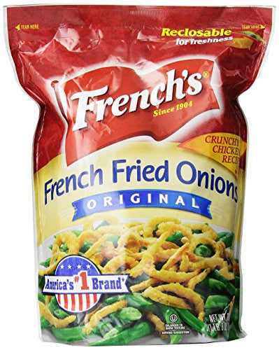 French's Fried Onions Original, 24 Ounce - RokBuy - Grocery -