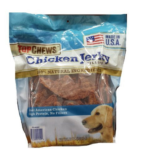 Top Chews Chicken Jerky Fillets - RokBuy - Pet supplies -