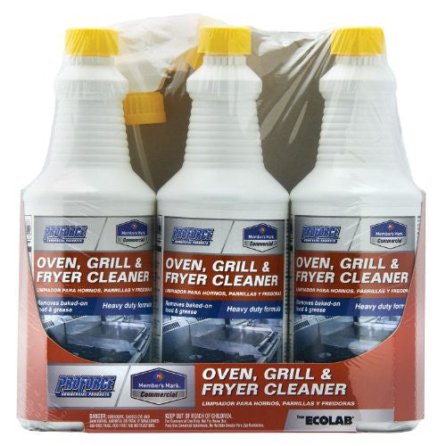 Member's Mark Oven, Grill & Fryer Cleaner - 3 bottles 32 oz each - Formerly known as Proforce - RokBuy - Home -