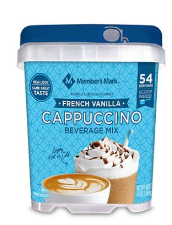 Member's Mark French Vanilla Cappuccino Beverage Mix