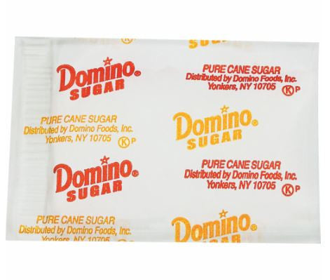 Domino Pure Cane Sugar 2000 Packets - RokBuy - Food -  - 1