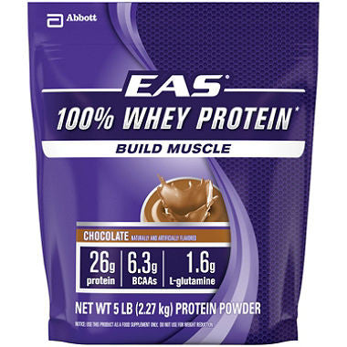 EAS 100% Whey Protein Powder, Various Flavors - RokBuy - Health - Chocolate - 1