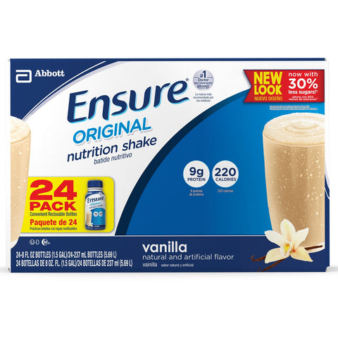 Ensure Original Nutrition Shake, Vanilla - RokBuy - Health -