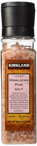 Kirkland Signature Himalayan Pink Salt Grinder, Various Quantities - RokBuy - Food - 1 Pack - 1