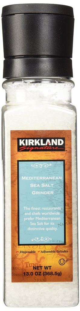 Kirkland Signature Mediterranean Sea Salt Grinder, Various Quantities - RokBuy - Food -