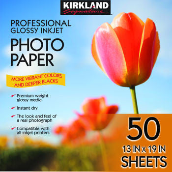 Kirkland Signature Professional Glossy Photo Paper - RokBuy - Office -