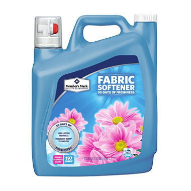 Member's Mark Liquid Fabric Softener, Spring Flowers Scent - RokBuy - Office -