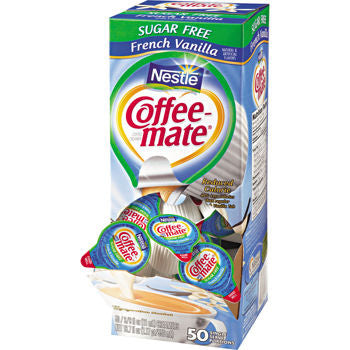 Nestlé Coffee-mate Sugar Free French Vanilla Liquid Creamer, 3 Pack - RokBuy - Food -