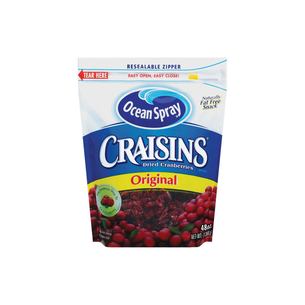 Ocean Spray Craisins® - 48 Oz. Bag - RokBuy - Food -