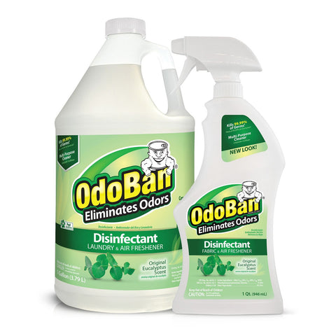 OdoBan Odor Disinfectant, Eucalyptus (1 Gallon Concentrate / 32 oz. Ready-to-Use) - RokBuy - Home -