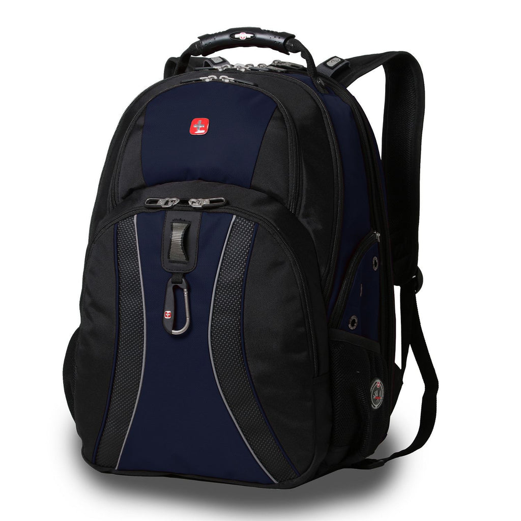 SwissGear ScanSmart Laptop Backpack, Various Colors Available - RokBuy - Home - Blue - 4