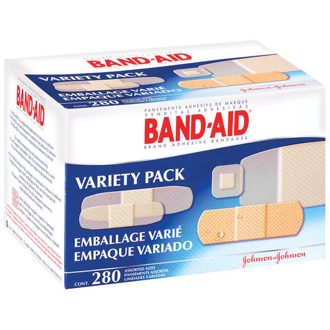 Band-Aid Brand Bandages, Variety Pack - 280 ct. - RokBuy - Health -