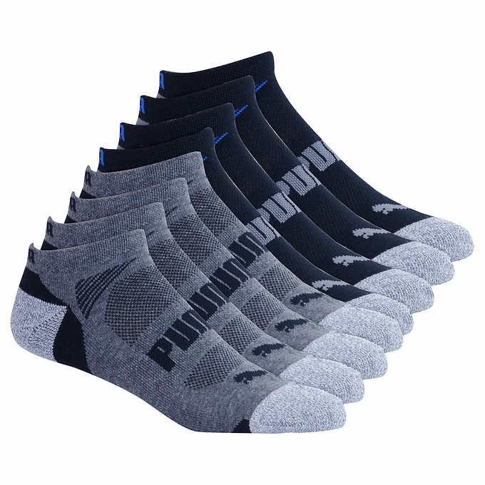 Puma Men's No Show Sock 8-pair