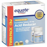 Equate - Famotidine Acid Reducer - 100 tablets - RokBuy - Health -  - 1