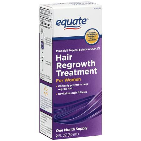 Equate - Hair Regrowth Treatment for Women - 1 month supply - RokBuy - Beauty -