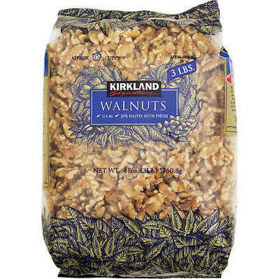 Kirkland Signature Walnuts - 48 oz bag - RokBuy - Food -
