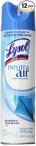 Lysol Neutra Air Fresh Scent, 10 oz. - 12 ct. - RokBuy - Office -  - 1
