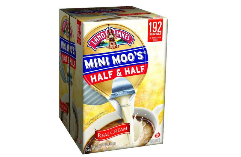 Land O Lake's Mini Moos Half & Half Portion Cups - RokBuy - Food -