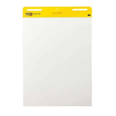 Post-It Self-Stick Easel Pads, White unruled - 30 Sheets, Various Quantities Available - RokBuy - Office - 2 Pack - 1