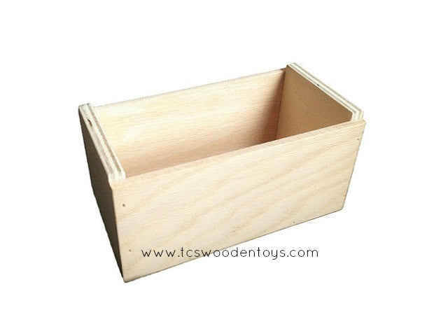 Pretend play feed trough for animals - Mini desk crate