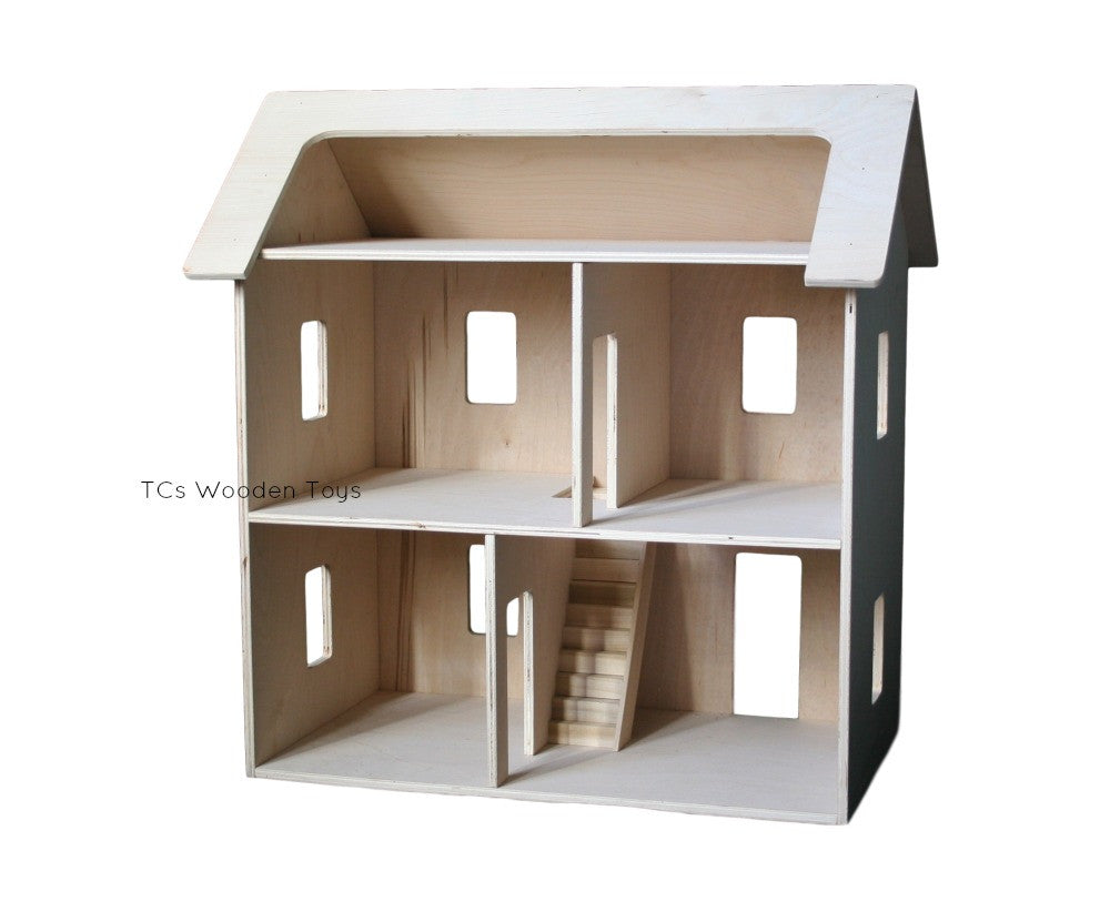 Amish made Wooden Toy Dollhouse Doll House