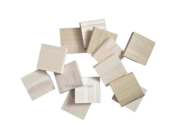 Wooden Blank Tiles for Craft