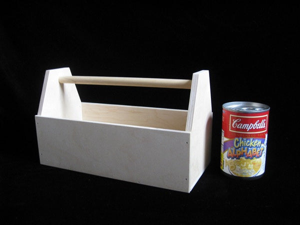 Wood Toy Construction Tool Box