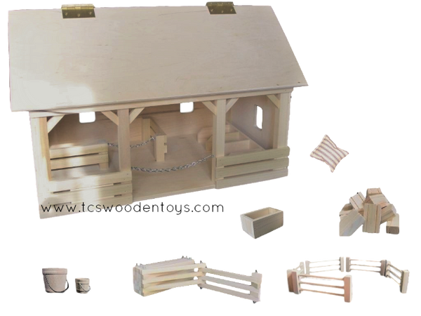 Pretend Play Horse Farm Gift Set