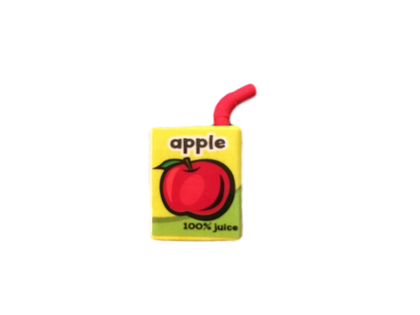 3D Food Drink Eraser - Apple Juice Box